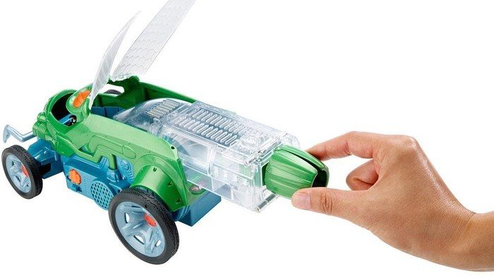 Critter-Controlled Toy Cars