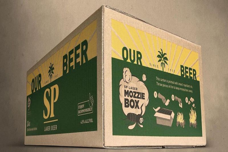 Bug Repellent Booze Branding