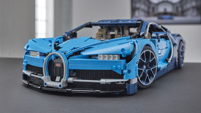 Detailed LEGO Car Kits