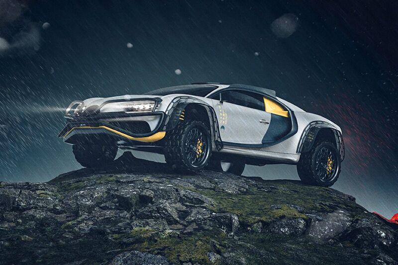 Ruggedized Luxury Sports Cars