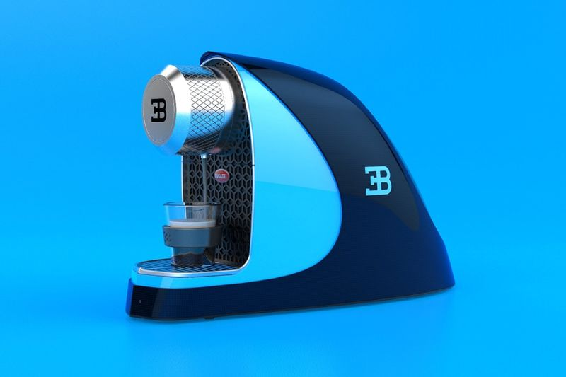 Supercar-Inspired Coffee Makers