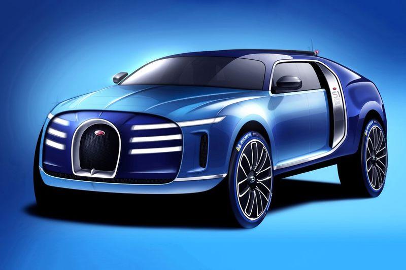 Supercar SUV Concepts