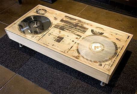 Exceptional Coffee Turn Tables
