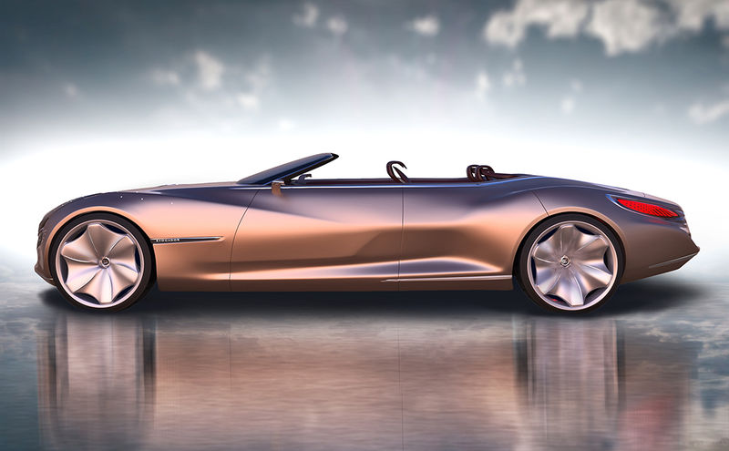Sculpted Ultra-Luxury Convertibles