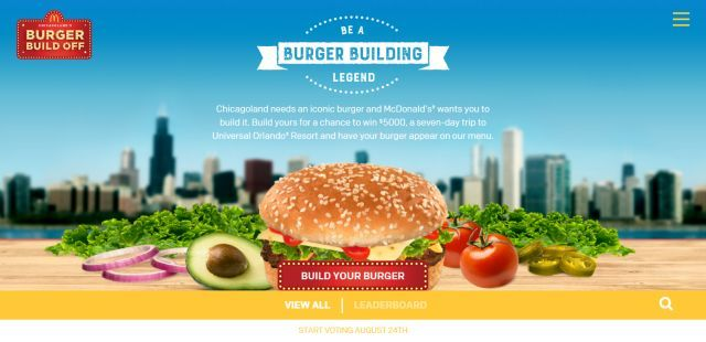 Burger-Building Contests