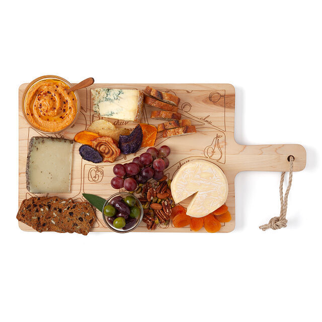 Placement Diagram Cheese Boards