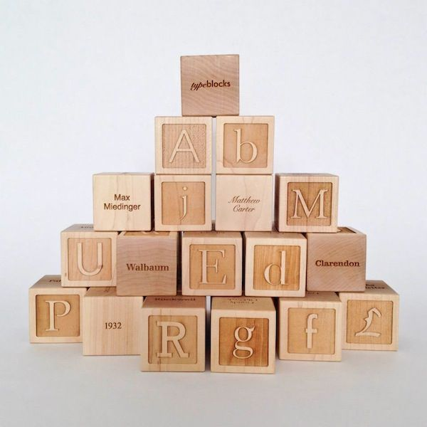 Typographic Building Blocks