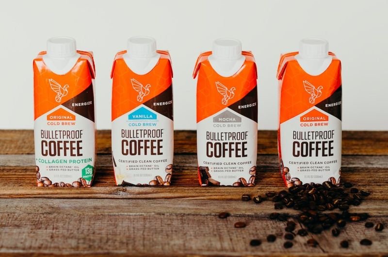 Buttered Cold Brew Beverages Bulletproof Coffee To Go
