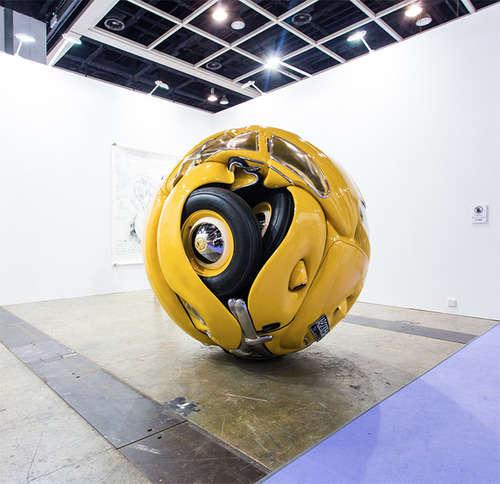 Bug-Like Car Sculptures