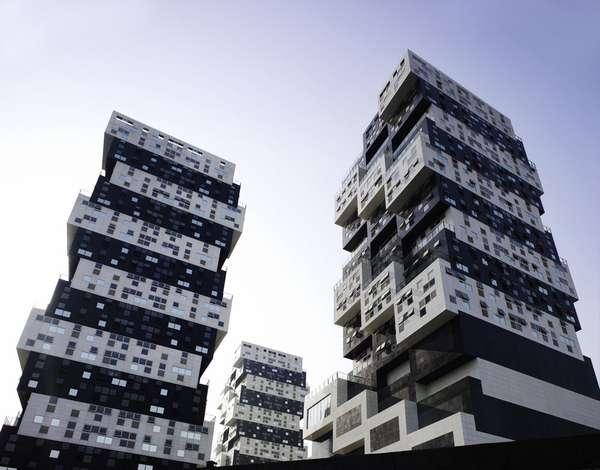 Jenga Block Buildings