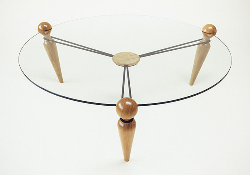 Tension Cord Tables