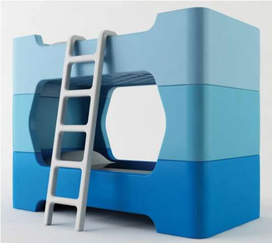 Four-Piece Bunk Beds