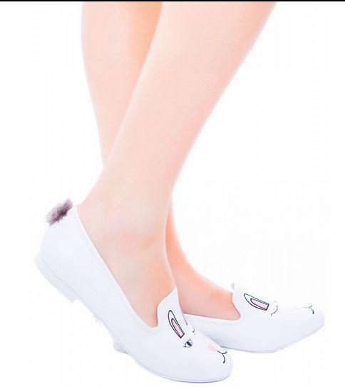 Bunny-Inspired Ballet Flats
