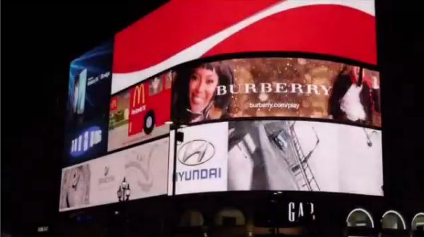 Interactive Holiday Billboards