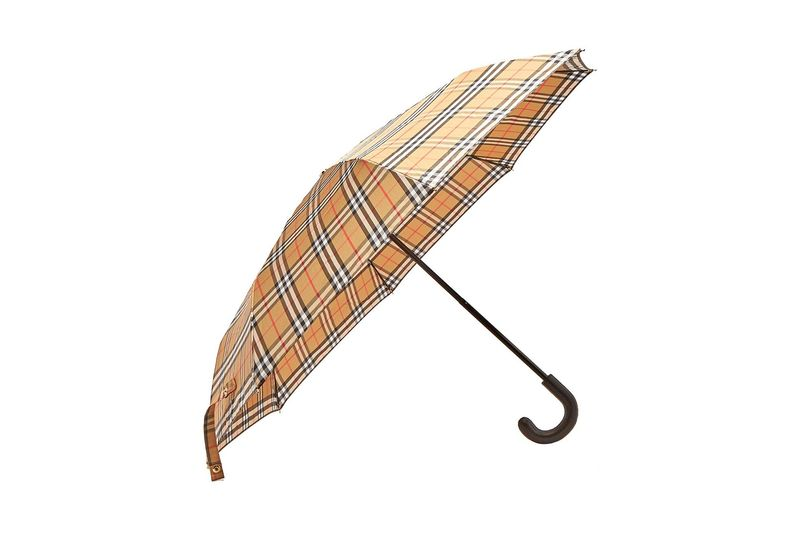 Vintage-Check Umbrella Designs