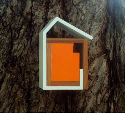 Chic Modern Birdhouses