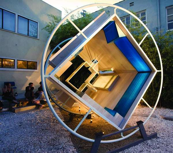 Revolving Zero-Gravity Rooms