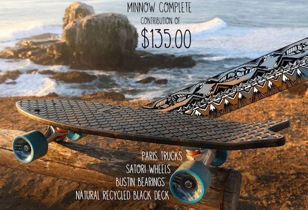 Sustainable Oceanic Skateboards