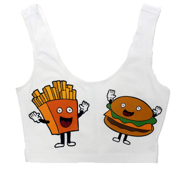Urban Fast Food Fashions