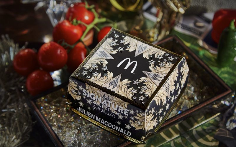 Opulent QSR Burger Packaging