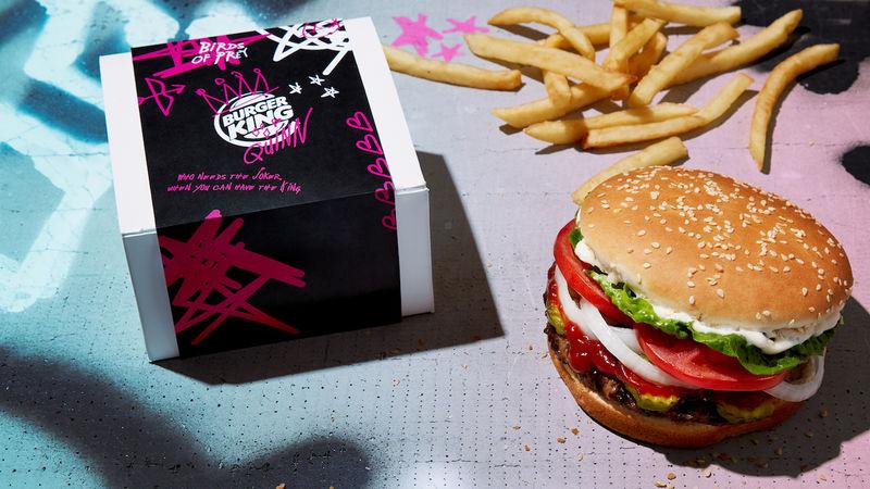 Anti-Valentine's Burger Campaigns