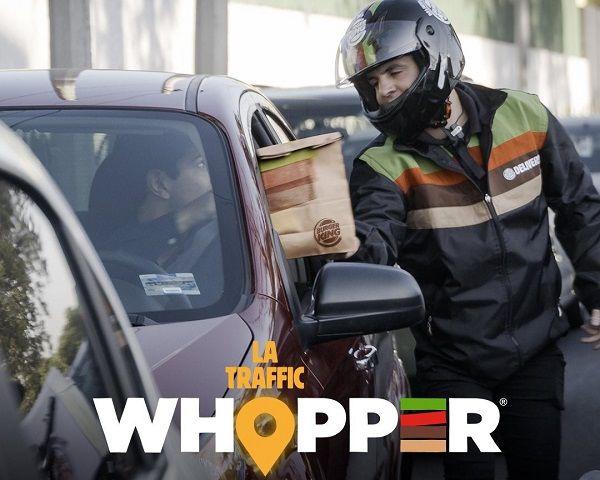 In-Car Burger Deliveries : burger delivery