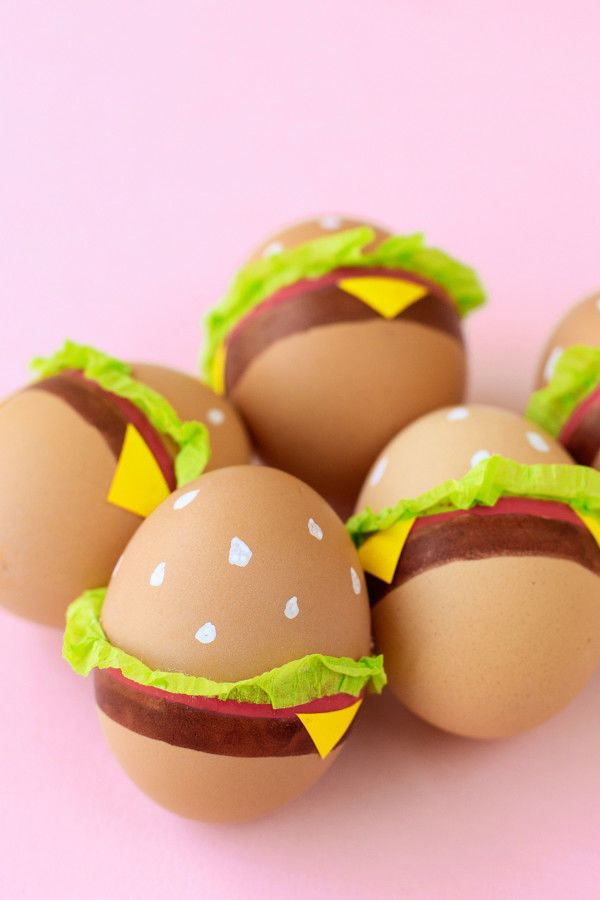 Burger Easter Eggs