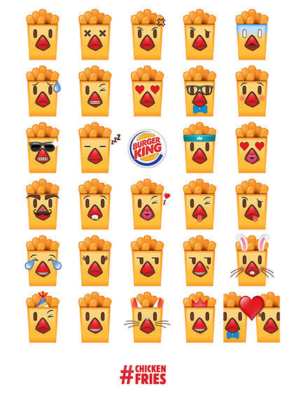 Fast Food Emoji Apps
