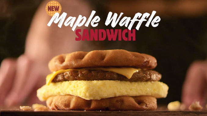 Savory Waffle Breakfast Sandwiches