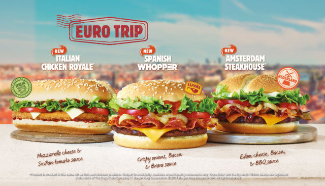 Travel-Inspired Burgers
