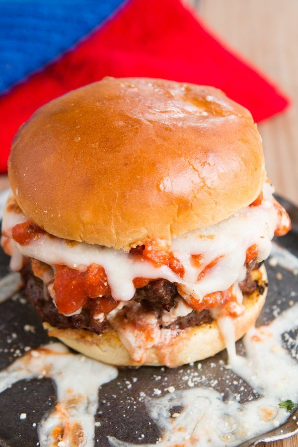 Lasagna Burger Mashups