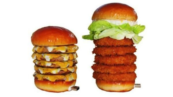 Fast Food Flash Drives