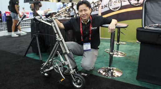 Tiny Titanium Bicycles