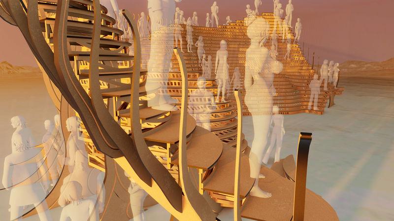 Timber Festival-Inspired Pavilions