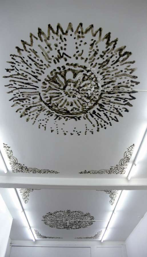 Burnt Ceiling Murals