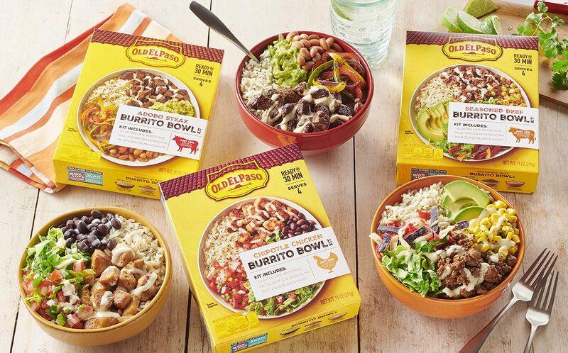 DIY Burrito Bowl Kits