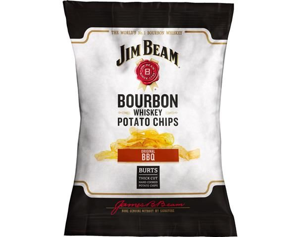Bourbon-Infused Snack Chips
