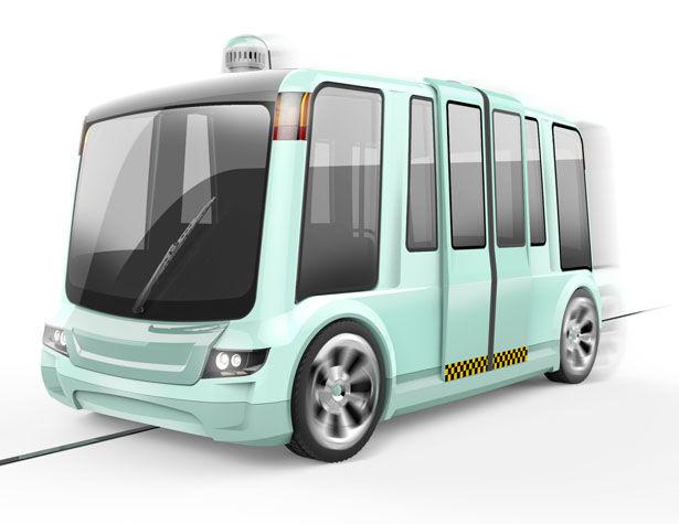 Autonomous Magnetic Track Buses