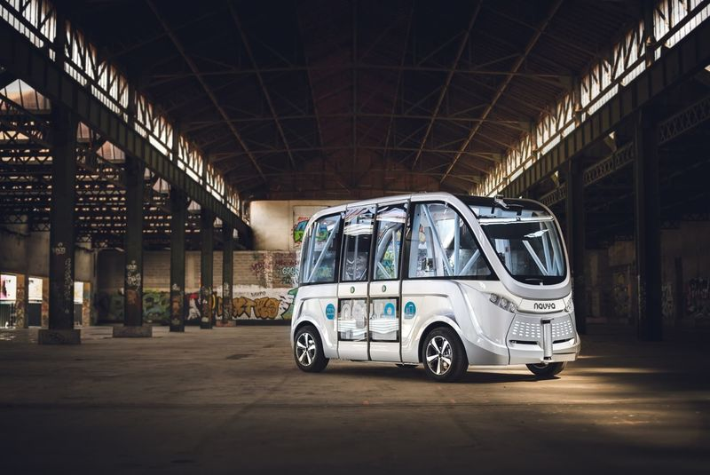 Autonomous Electric Transport Vehicles