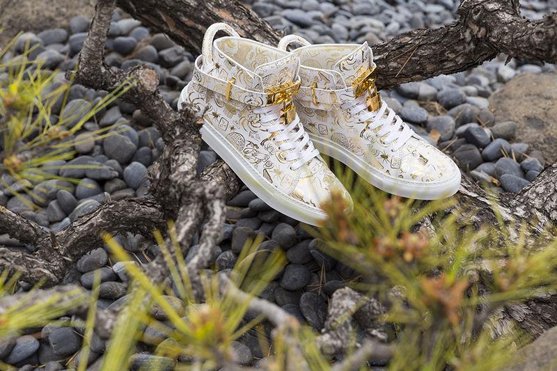 Ultra-Luxe Artist Sneakers