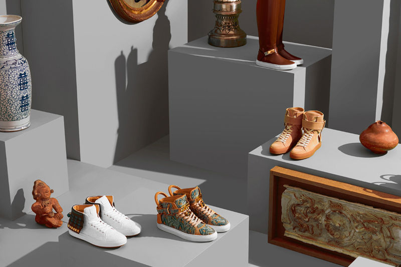 Overtly Opulent Sneakers