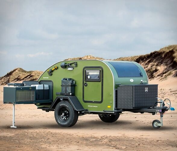 Space-Maximizing Camping Trailers