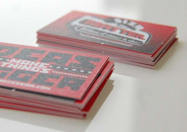 Bite-Sized Business Cards
