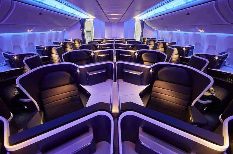 Improved Business Class Cabins