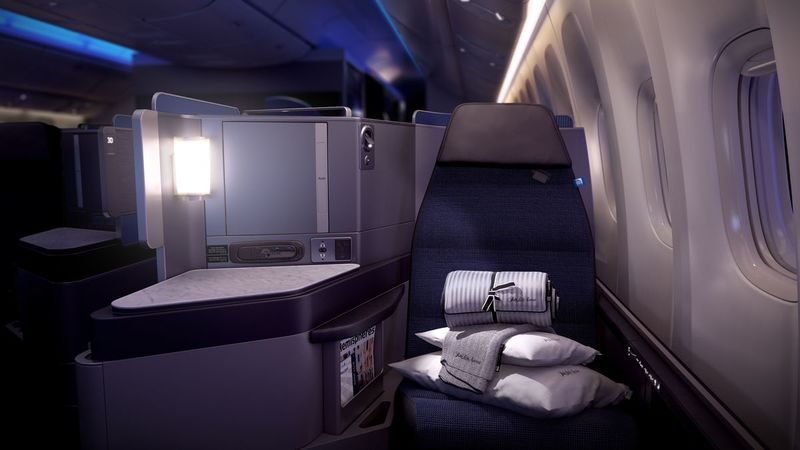 Luxurious Business Class Cabins