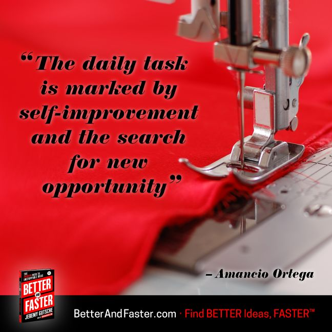 Self-Improvement Leads to Opportunity