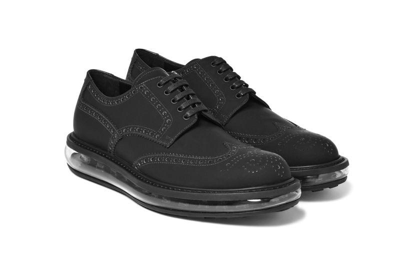 Transparent Sole Business Shoes