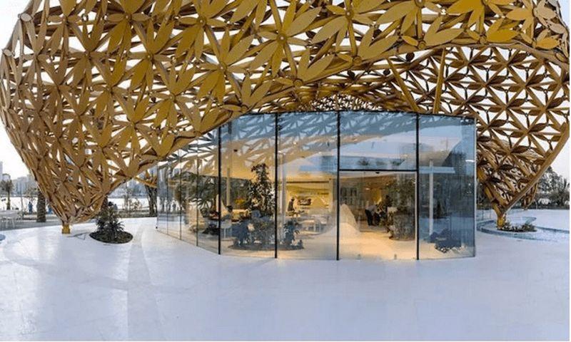 Whimsical Aluminum Pavilions