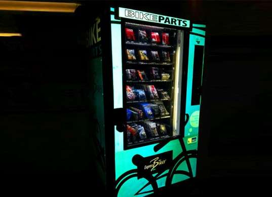 Bicycle Repairing Vending Machines Buy Bike Parts