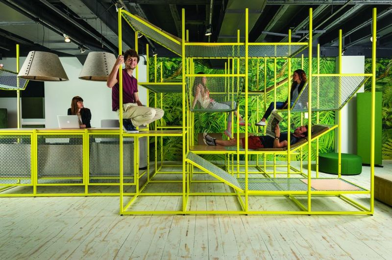 Jungle Gym Meeting Spaces
